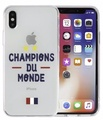 Protection Case - Champion Du Monde - Iphone X