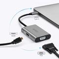 WIWU Type-C轉VGA HDMI轉接器MAC HUB轉換頭 多功能集線器