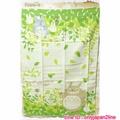 【真愛日本】16101400012日本製紗布大幅長紗巾-龍貓綠葉   TOTORO豆豆龍 絲巾  圍巾