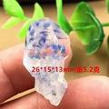 藍線石 水晶內包藍線石 原礦 標本