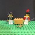 LEGO樂高經典絕版海盜系列將軍人偶組