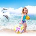 ลูกบอลชายหาดว่ายน้ำของเล่นเล่นในน้ำ