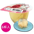 盛香珍白桃多果實果凍180gX6杯入(組)