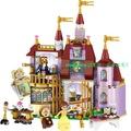 ~益智玩具熱賣~正品女孩迪公主系列貝兒公主魔法城堡兼容樂高積木玩具41067