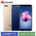華為 HUAWEI Y7s 5.65吋 (3G/32G) 雙鏡頭智慧型手機 (藍/金)