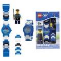 【樂高積木 LEGO】兒童手錶-城市警察
