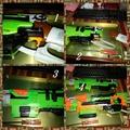 BIGLP~非NERF原廠配件~NERF SLINGFIRE僵屍大獵槍專用升級5kg彈簧