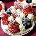 草莓藍莓塔