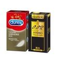 okamoto岡本 002 Hydro水感勁薄保險套6入 + Durex杜蕾斯 超薄裝保險套12入