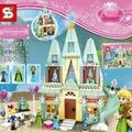 Frozen Inspired Lego Castle
