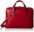 DELSEY Paris Delsey Luggage Pernety Horizontal 15.6 Inch Laptop Tote, Red, One Size