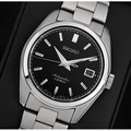 BRAND NEW SEIKO MINI GRAND SEIKO BLACK DIAL AUTOMATIC MENS DRESS WATCH SARB033