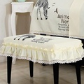 Piano Cover Full Cover Korean Style Garden Piano Cover qin tao Fabric Embroidery Piano Stool Cover Cartoon Piano Dust Cover