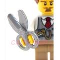 #玩樂高 LEGO 人偶配件 平光銀色 剪刀 6096993 18920 10246 71040 21137 全新