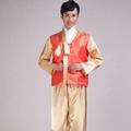 ชุดโบราณชุดจีนแบบดั้งเดิมชายชุดฮันบกผู้ชายแบบดั้งเดิมเสื้อผ้าสาธารณรัฐเกาหลีชนกลุ่มน้อยชนชาติเสื้อผ้าชุดฮันบก Yangko ชุดการแสดงชุดสมัยราชวงศ์ถังชาย