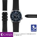 對精工潛水員SEIKO Diver而言正好的鐘表皮帶CASSIS黑加侖子METZ X0034198完全防水| 更換男子的女子的鐘表皮帶橡膠橡膠皮帶防水夏天能抵抗橡膠帶汗的帶鐘表帶交換手錶,交換高檔的表帶手錶皮帶皮帶 MANO A MANO