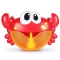 ✨蝦拼童樂會✨ 音樂泡泡製造機 螃蟹泡泡機 泡泡機 沐浴機 戲水機 洗澡玩具