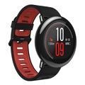 xiaomi AMAZFIT HUAMI GPS Sports Watch with Ceramic Bezel - Black + Red