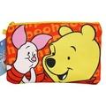 【卡漫屋】 維尼熊 化妝包 ㊣版 雙層 拉鍊袋 筆袋 萬用包 收納包 萬用袋 Winnie Pooh 小熊維尼 小豬