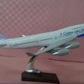 中華航空 波音747-400 樹脂飛機模型