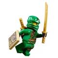 土城☆公主樂糕殿☆ LEGO 樂高 旋風忍者 綠忍者 附武器 忍者劍+火把+地圖 70749 (A-238)