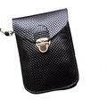 5a06e7756d Fashion Preppy Style Women Mini Bag Cell Phone Bag PU Leather Plaid Purse  Messenger Bag Shoulder Bag