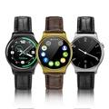 【台灣公司貨】質感皮錶造型S3 長江智能通話手錶 觸控 磁吸充電 心率功能 FB line提醒 圓形錶面
