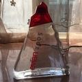 《全新》法國品牌 evian water 2005 愛維養貴賓紀念玻璃瓶 阿爾卑斯山造型