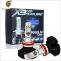 【DR】X3 LED 汽車大燈 汽車前照燈 H1 H3 H4 H7 H11 9005 9006 遠近光 led改裝霧燈