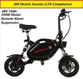 AM Tempo Electric Scooter * DYU * Minimotor * Fiido * 48V * Remote Control * Suspension