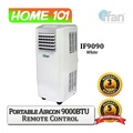 ifan Portable Aircon 9000BTU With Remote Control IF9090