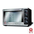 【晶工牌】45L不鏽鋼雙溫控旋風烤箱 , JK-7450~免運免運