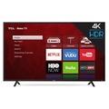 Refurbished TCL 65S401 65 Class 4K (2160P) HDR Roku Smart LED TV