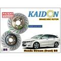 "Honda Stream disc brake rotor KAIDON (Front) type ""BS"" spec"
