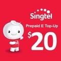 Singtel Prepaid eTopUp SGD20