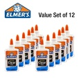 [ Elmer's ] Elmers Clear Glue 5oz Set of 12 - Great for slime making