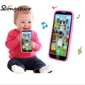 Kids Smart Touch Screen Mobile Phone Toy Multi-function Simulation Children Puzzle Early Education Mobile Phone Toy