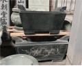 「石夫的家」石雕石爐香爐馬槽爐雙耳爐