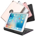 Apple 蘋果 360度旋轉型鋁合金藍牙鍵盤/筆電盒 iPad/Pro9.7/Air2/Air專用