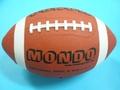 橄欖球 MONDO 美式足球 9號標準比賽球/一個入{定250}橡膠皮質~球長約30公分