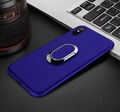 Magnetic Car Ring Case for OPPO R11S Plus Kickstand Phone Cases Soft Silicone Cover for Oppo R11S Plus Holder Phone Case