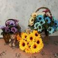 【園藝世界】油畫向日葵花束