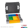 【BOSCH 博世】系統工具箱用12件置物格(L-Boxx 102 insert box set 12 pieces)
