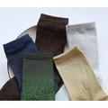 M小姐雜貨 現貨 日本 金蔥 亮片 復古 古著 金色 銀色 寶藍 綠 短襪 中統襪 襪子 韓國 雜誌款