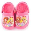 【童鞋城堡】偶像學園 中童 輕量花園鞋(ID0717-粉)