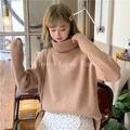 (ผ้าหนา/อุ่น/นุ่ม) เสื้อแขนยาวคอเต่าไหมพรม สไตล์เกาหลี เสื้อไหมพรม เสื้อไหมพรมแขนยาว เสื้อไหมพรม เสื้อแขนยาว เสื้อกันหนาว เสื้อคอเต่า เสื้อคอเต่าแขนยาว รุ่น BT-1