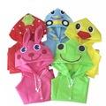 爆款兒童卡通雨衣 高品質日本兒童雨衣 男童女童兒童雨衣動物防水 輕便防風寶寶雨衣 兒童 雨衣