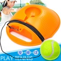 便攜網球訓練器D090-N01 單人網球訓練座.攜帶型網球組.初學者網球練習器.單打發球練習.不含網球拍.健身球類