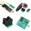 ✡VS EEPROM BIOS USB Programmer CH341A + SOIC8 Clip + 1.8V Adapter + SOIC8 Adaptor Kit