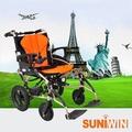 Suniwin尚耘國際出國代步車W630/折疊攜帶快拆雙鋰電池可上飛機電動輪椅/電動代步車/極輕易攜電動輪椅/手電兩用輔具